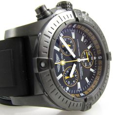Breitling : Avenger Seawolf Chronograph Blacksteel Limited : M73390T1/BA87