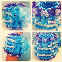 epic my little pony cuff by @_nateezy