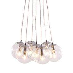 Decadence Ceiling Lamp 50081 Glowing Orb Glass Shades