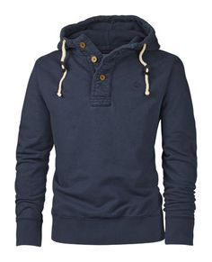 Rossmore Button Neck Hoody
