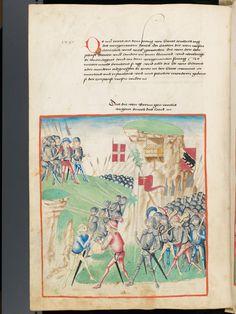 Bern, Burgerbibliothek, Mss.h.h.I.1, f. 246 – Diebold Schilling, Amtliche Berner Chronik, vol. 1