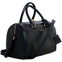 7d2185157647 SHOP Saint Laurent Leather Duffle bag Black Leather Handbags