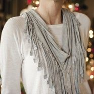 tutorial - fringe scarf by fab you bliss