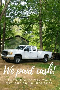 familygoals eventually debtfree finance trucks budget happen avoid every worth heres truck going twice money How to pay cash for a car how we made it happen twice Want to avoid debt but you know youll evYou can find Trucks and more on our website Ways To Save Money, Money Tips, Money Saving Tips, How To Make Money, Money Budget, Savings Planner, Budget Planner, Financial Tips, Debt Payoff