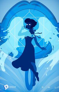 Minimalist Lapus Steven Universe