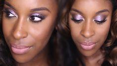 Colourpop Pink Sparkle Makeup Tutorial   Jackie Aina