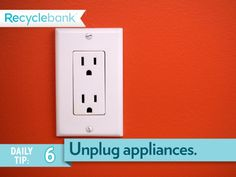 Don't just switch your blow dryer or toasters off. Unplug appliances to avoid vampire energy!