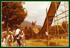 les voltigeurs  lac de Thyez  1978