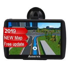 Camion Camion /à /écran Tactile capacitif avec mises /à Jour gratuites Syst/ème de Navigation GPS GPS GPS de 12,7 cm 8 Go 256 Mo pour Voiture
