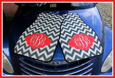 Monogrammed Gift Personalized Car Mats by ChicMonogram, $75.00