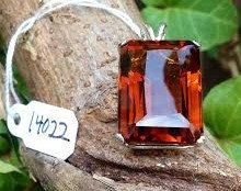 Pendant  Natural Citrine  Madeira by SimplyStonedJewelry on Etsy, $48.00
