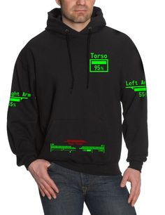 Fallout 3 / New Vegas  Personalised V.A.T.S. Hooded by ByteCage, £25.00