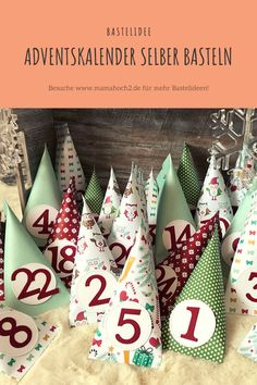 DIY ⋆ Mamahoch2 2019 Basteln, DIY Advent Calendar, Stampin Up, Holiday Decor, Special Gifts, Christmas Time, Advent Calenders, Stamping Up