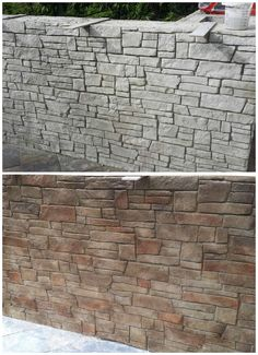 Stamped Concrete Wall Patio Contractor - Orlando FL