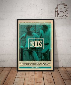 Patti Smith - Quote Retro Poster - Music Legends Series
