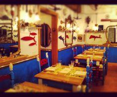 La Passera di Mare, fresh seafood restaurant in Florence. www.passeradimare...