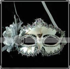 Wholesale Flower Venetian Masquerade Mask Eye Costume Party Fancy Dress - DinoDirect.com