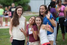 Some incoming freshmen at SOAR