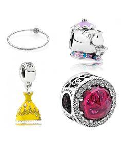 Pandora UK HOT Beauty and The Beast Bracelet Set