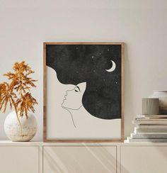 Small Canvas Art, Mini Canvas Art, Diy Canvas, Easy Canvas Art, Easy Art, Minimalist Art, Minimalist Painting, Printable Wall Art, Art Prints