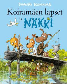 Koiramäen lapset ja Näkki Akita, Illustrators, Fairy Tales, Literature, Family Guy, Author, Comics, Reading, Children