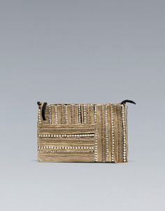 ETHNIC CLUTCH BAG - Handbags - Woman - ZARA United Kingdom