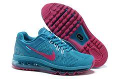#WholesaleShoesHub  #COM   Cheap Nike Air Maxes: Nike Air Max 2013 Womens Blue Red Shoes #dental #poker