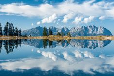 Seidlalmsee Reflections. Austria BoredPanda