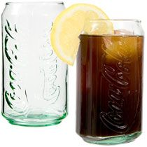 Bulk Coca-Cola Can-Shaped Green Beverage Glasses, 12-oz. at DollarTree.com