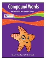 Our 2nd Grade Compound Words Lesson is aligned with the 2nd Grade Common Core Reading and Language Standards (CC.2.RI.1, CC.2.RI.4, CC.2.L.4d).     We've included a full color Compound Words Poster that's ready to print, laminate, and hang in your classroom, a color copy of the lesson for your White Board, black and white versions of the lesson and activities to make copies for your students, and answer pages.