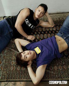 BTOB   Cosmopolitan Btob Minhyuk, Yook Sungjae, K Pop, Cosmopolitan Magazine, Cube Entertainment, Lee Min, Boy Groups, Korea, Shit Happens