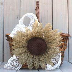 Resultado de imagen para Flower Crafting Burlap, hemp, jute - all great materials for flower making