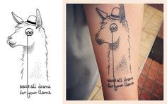 Save All Drama for Your Llama by Grey_Summer, via Flickr