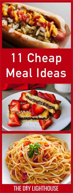 Cheap meal ideas for feeding large groups | how to feed a big group on a budget | family and kid friendly dinners | Menus for large party dinner | 11 inexpensive ways to feed people