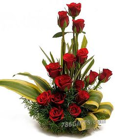 Want to buy flowers online in Indore, then Baghban Florist is the best local florist to Order Flowers Online in Indore. Send Flowers Online via Best Local Florist in Indore. Best Flower Shop in Indore - to buy flower bouquet online in Indore Simple Flowers, Red Flowers, Red Roses, Beautiful Flowers, Cheap Flowers, Easter Flowers, Deco Floral, Arte Floral, Church Flower Arrangements