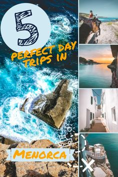 Are you planning a vacation in #Menorca? You MUST read this article! The roving puffin prepared 5 itineraries for your trip to Menorca. Each can all be completed in one day. #Menorca #Spain #Roadtrip Vacation in Menorca | Holiday Menorca | Road trip in Menorca | Balearic islands | Spanish food | Horse riding | Cave bar | Cliff bar | What to do in Menorca | Things to do in Menorca | Best beaches Menorca | best beaches Spain | Travel tips | Menorca beaches | beach to visit Menorca