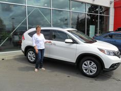Congratulations Louise! Hopefully the roads on the way home have no construction!