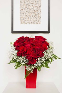 Heart and Soul, the perfect romantic Valentine's Day gift | Valentine's Day Flowers | Red Roses | Love | Gifts | #teleflora #flowers