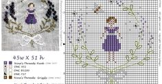 Good evening,   I came up with a simple and fresh outlook for the pattern of the Lavender Girl, I hope you will like it:-) I will also give...