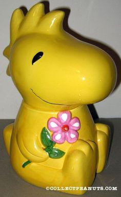 Woodstock Cookie Jar made in Taiwan by Benjamin & Medwin