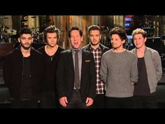 WATCH: Paul Rudd hosts Saturday Night Live with musical guest One Direction this weekend! TOMORROW!!