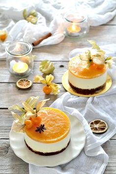 Gelatina bávara y caqui Grand Marnier – Madame Gateau Fancy Desserts, Köstliche Desserts, Sweets Recipes, Chocolate Desserts, Gourmet Recipes, Delicious Desserts, Cake Recipes, Mini Cakes, Cupcake Cakes