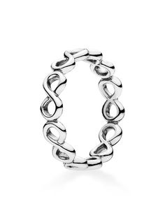 Pandora Ring - Sterling Silver Infinite Shine   Imported   Style #190994   Sterling silver   Photo may have been enlarged and/or enhanced   Web ID:1683884