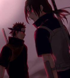 Shisui and itachi- are my favorite uchiha duo. Anime Naruto, Sasuke And Itachi, Naruto Cute, Madara Susanoo, Naruto Uzumaki Shippuden, Wallpaper Naruto Shippuden, Wallpapers Naruto, Naruto Drawings, Naruto Pictures