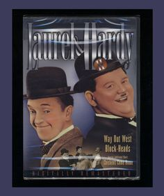 840791e15e Laurel and Hardy II - Way Out West Block-Heads (DVD