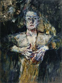 Fritz Schwarz-Waldegg - Self-knowledge, 1920, oil on canvas, 117.5 x 88 cm