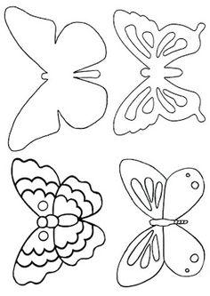 Ƹ̵̡Ӝ̵̨̄Ʒ eylulbahcesi hand craft Ƹ̵̡Ӝ̵̨̄Ʒ: Keçeden Kelebek Aplikelerim