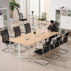 Best price professional melamine executive conference tables modern office desk for meeting room