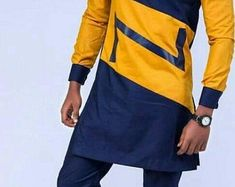 Mens Style Discover African Clothing For Men African Men African Attire Mens Attire Mens Suits Nigerian Men Fashion Mens Fashion Costume Blanc Yellow Suit African Wear Styles For Men, African Shirts For Men, African Attire For Men, African Clothing For Men, Nigerian Men Fashion, African Men Fashion, Mens Fashion, Couples African Outfits, African Dresses Men