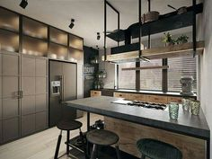 5 Best Tips: Industrial Living Room Architecture industrial windows farmhouse sinks. Vintage Industrial Furniture, Industrial Bedroom, Industrial Interiors, Industrial House, Industrial Windows, Industrial Wallpaper, Industrial Bookshelf, Industrial Apartment, Industrial Office